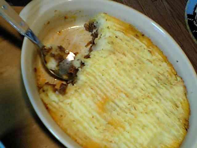 絶品☆ひき肉とマッシュポテトの重ね焼きの画像