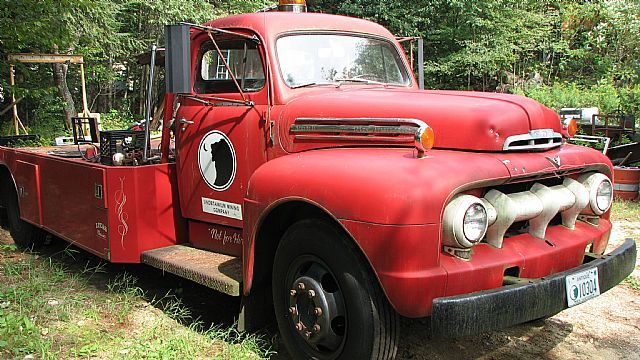 Old Chevy Pickup >> 1951 Ford F7 Fire Truck For Sale Warner, New Hampshire | Ramp Trucks | Pinterest | Fire trucks ...
