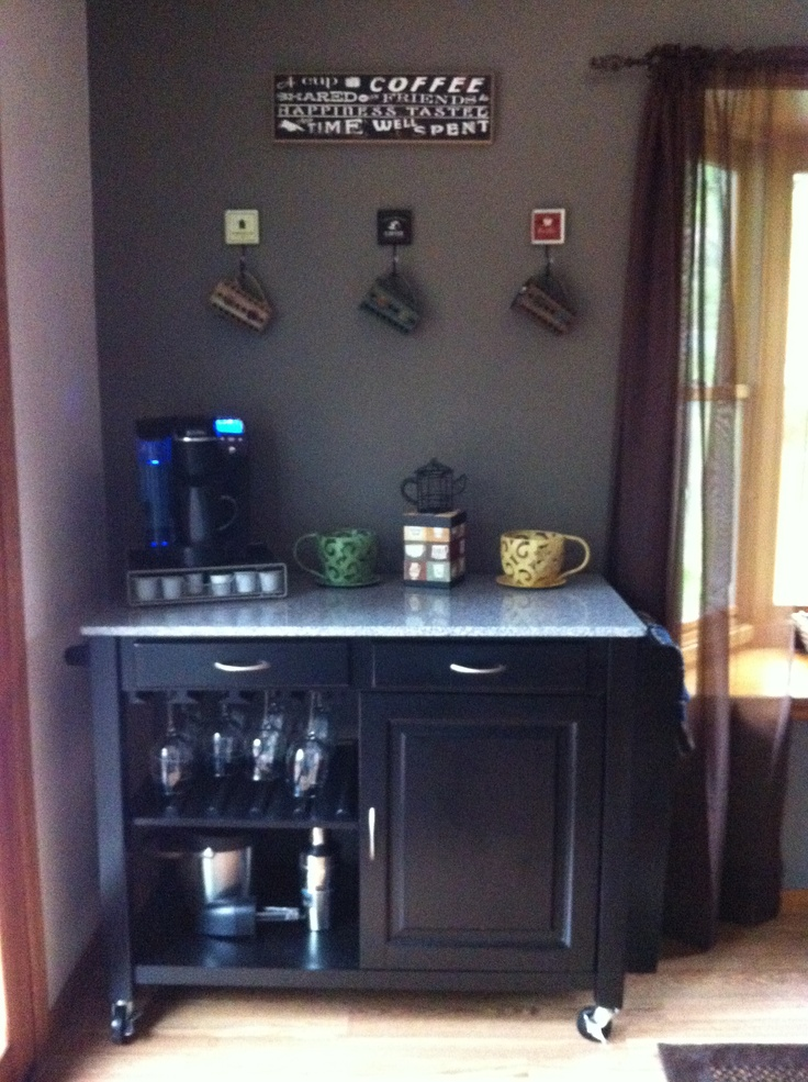 My coffee corner:) | What I love most about our home ...