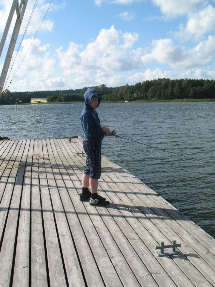 kalassa Ruukinrannan laiturilla #Mathildedal