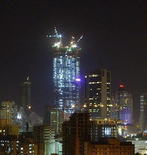 Palais Royale is still under construction, Mumbai