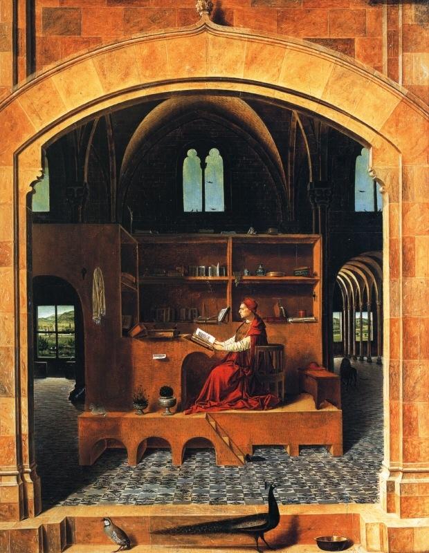 Messina 1420-1479, Antonello da, ItalySt Jerom in his study