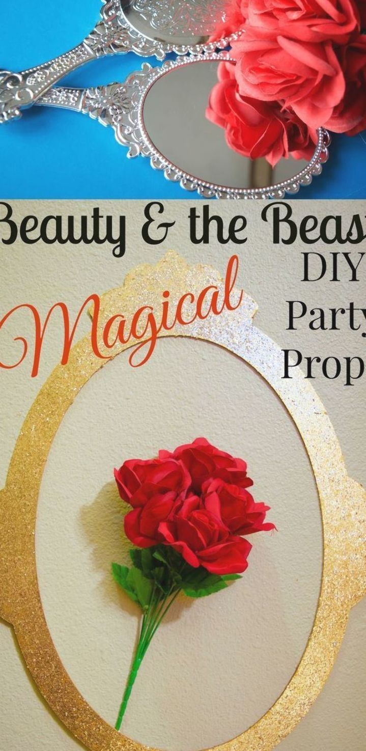 Stunning Diy Beauty The Beast Party Props Crafts These Are Amazing Some Ev In 2020 Beauty And The Beast Crafts Beauty And The Beast Diy Easy Diy Beauty Products