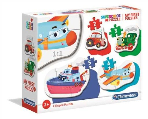 Moje Pierwsze Puzzle Pojazdy K 20811 9881169802 Allegro Pl Puzzles Shape Puzzles Puzzle