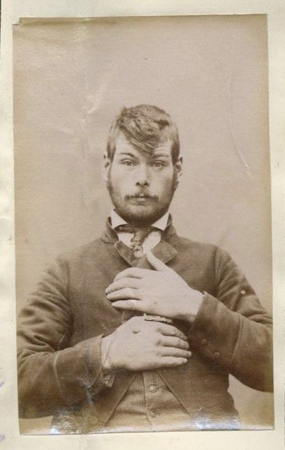 Victorian hipster? 19th Century Mug Shots from New Zealand   The Museum of Ridiculously Interesting Things