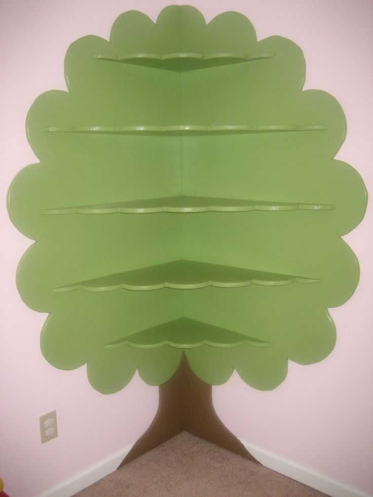 I love this super cute tree bookshelf for a kid's bedroom (Abilin LLC on FB)