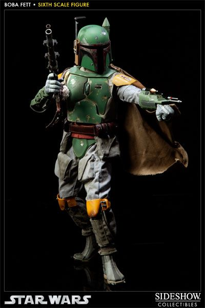 Sideshow Collectibles - Boba Fett Sixth Scale Figure
