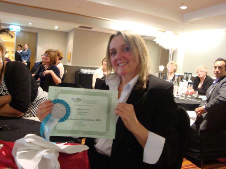 #RWNZ2014 Awards Dinner: Author Joanne Hill