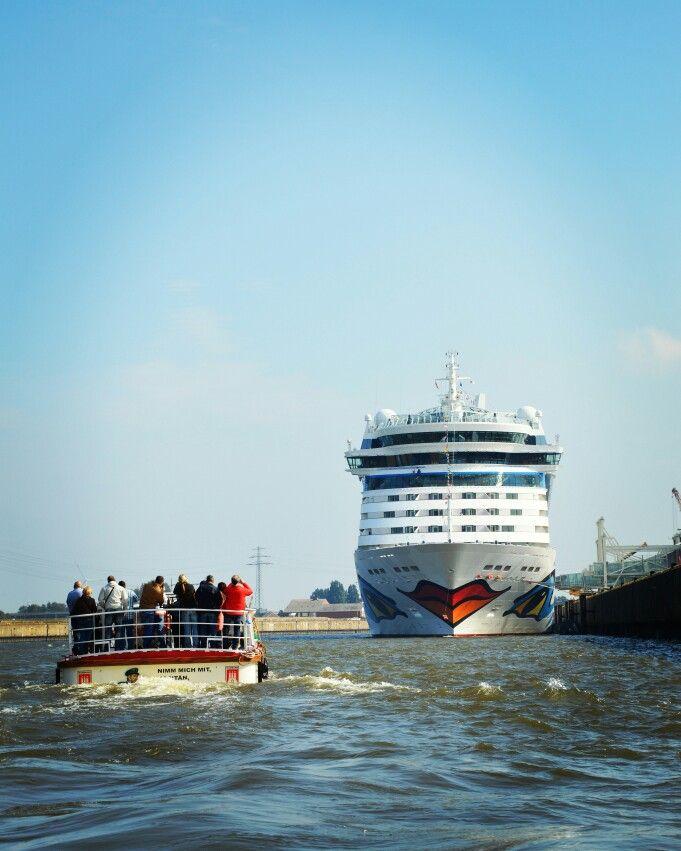 AIDA Bella in Hamburg #AIDA #cruise