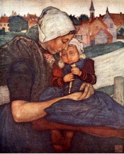 Nico Wilhelm Jungmann (1872 – 1935, Dutch)