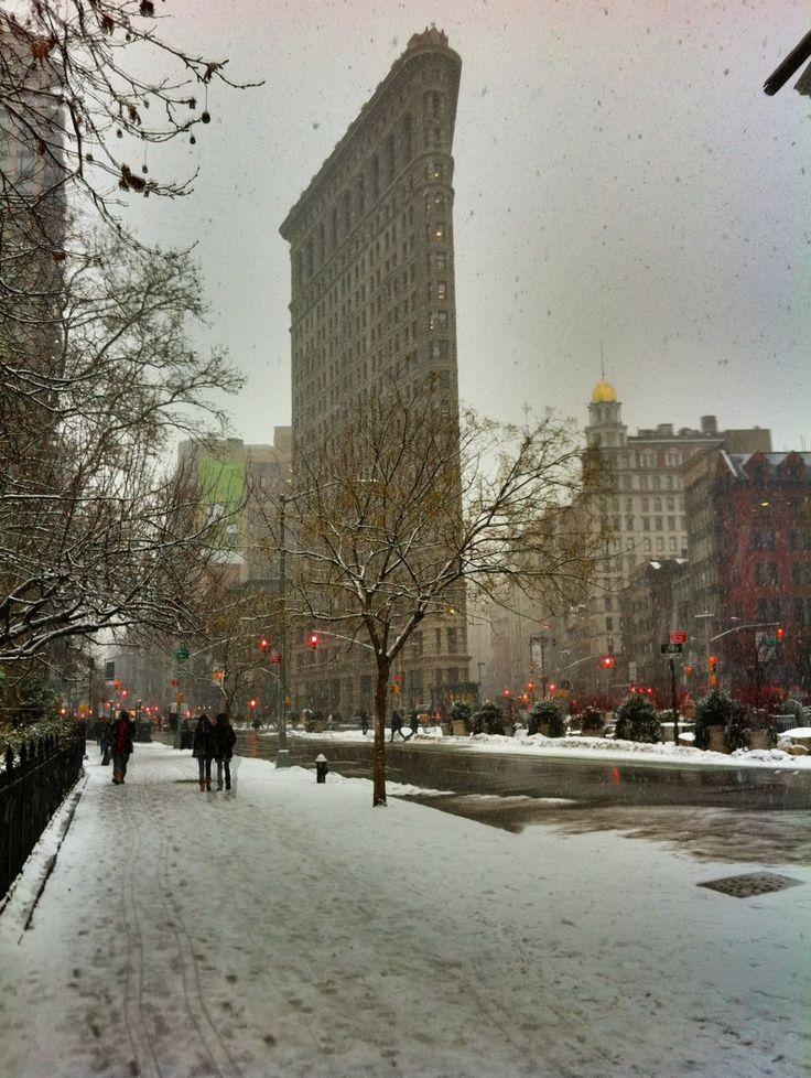 Flat Iron Building by  walkingoffthebigapple #Photography #Flat_Iron_Building #NYC #walkingoffthebigapple