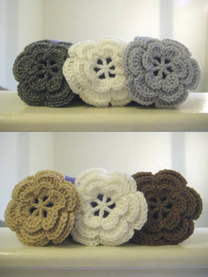 Flores en Crochet   Manos de Tete