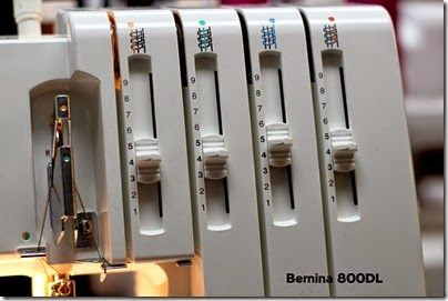 New Bernina serger  #bernina #serger #overlock