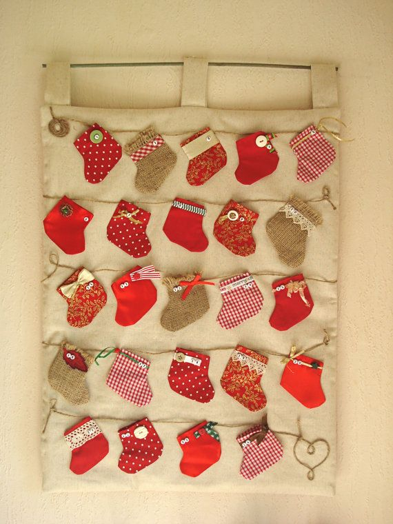 advent calendar - mini stockings