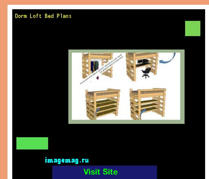 Dorm Loft Bed Plans 080301 - The Best Image Search