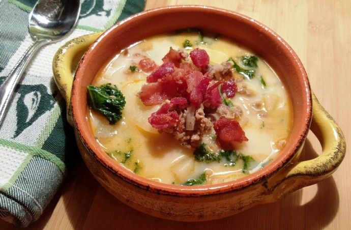 Pressure Cooker Olive Garden Zuppa Toscana (Italian Soup) - Use SF ingredients and count WP