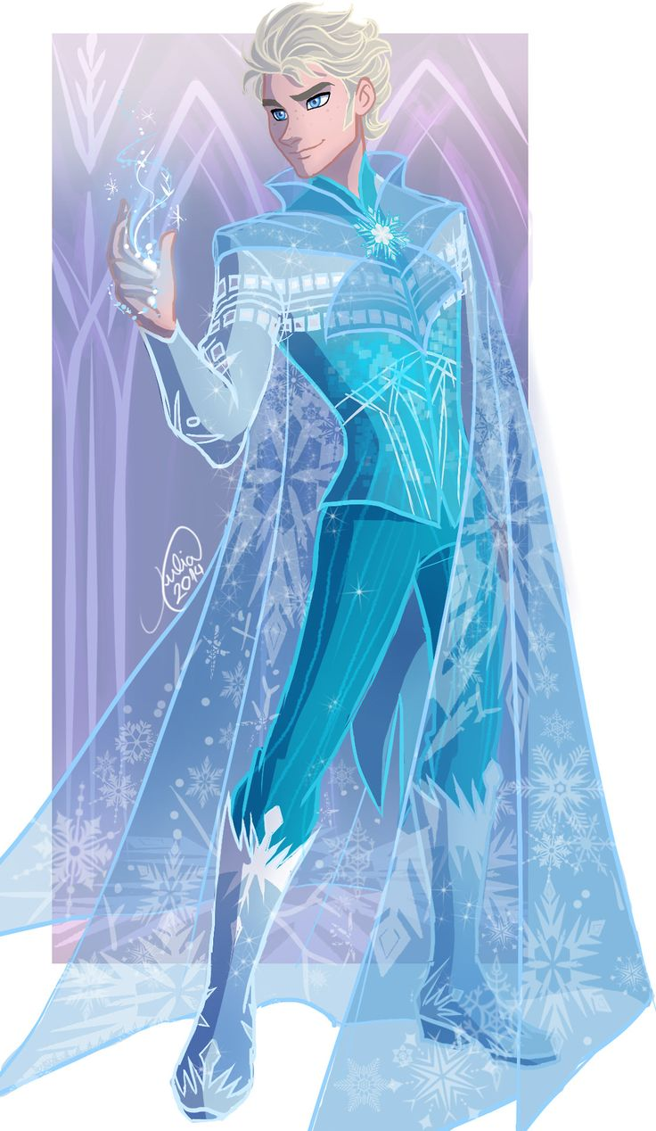 freaking awesome if elsa was a guy  art ️