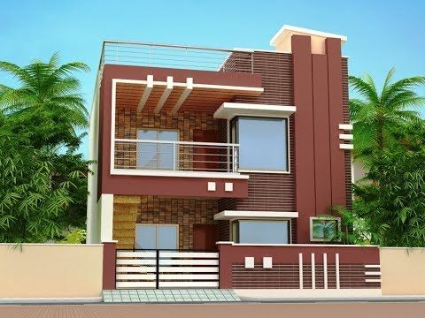 Small House Front Elevation Design Youtube Small House