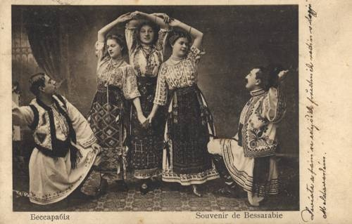 Folk costumes, Moldova around 1900
