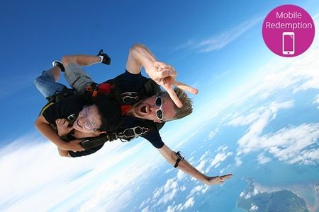 From $230 Total Cost for up to 14,000ft Tandem Skydive for One Person with Jump the Beach Brisbane (From $369 Value).