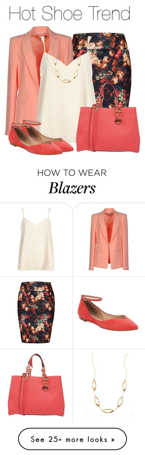 """""""So Stylish: Ankle Wrap Flats"""" by earthlyangel on Polyvore featuring City Chic, Annarita N., River Island, belle by Sigerson Morrison, MICHAEL Michael Kors, Lana, contest and anklewrapflats"""