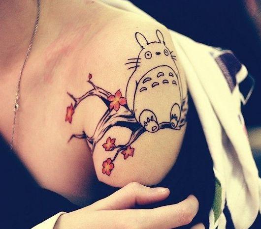 totoro tree | tattoo | Pinterest | Totoro, Tattoos and body art and ...