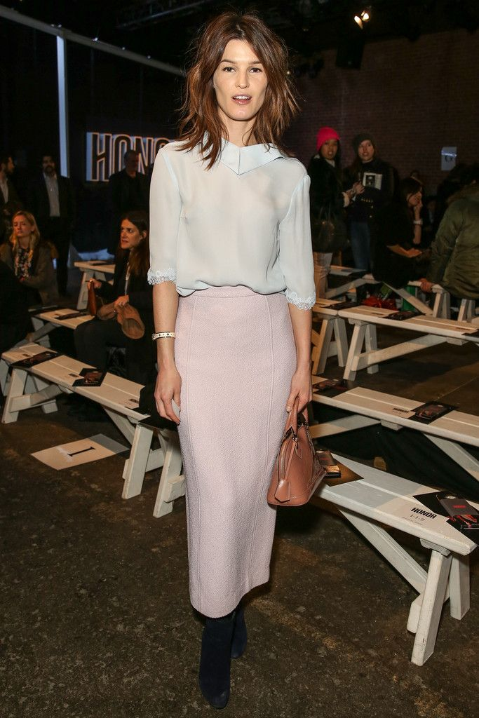 Hanneli Mustaparta attends the Honor fashion Fall 2014 at Eyebeam on February 10, 2014 in New York City.