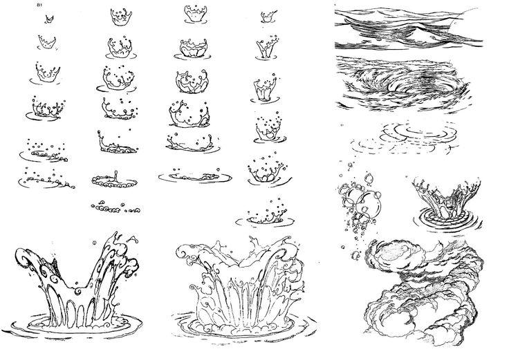 Water Splashes from Disney's Hercules.
