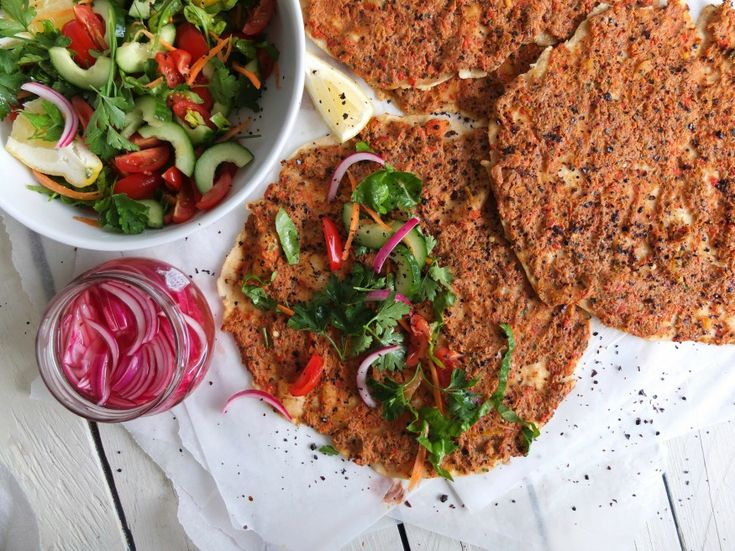 Lahmacun, recipe for the BBQ