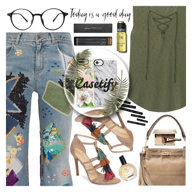 """""""Win a $40 from CASETIFY!♥"""" by av-anul ❤ liked on Polyvore featuring Roberto Cavalli, Klub Nico, Splendid, Mellow World, Clarins, Casetify, Sloane Stationery, Sonia Kashuk, topset and avanul"""