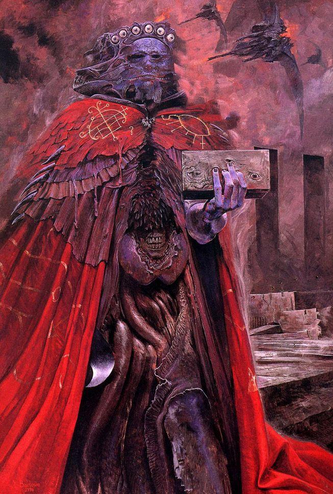 Wayne Barlowe's Hell (Avatar Creature Designer)