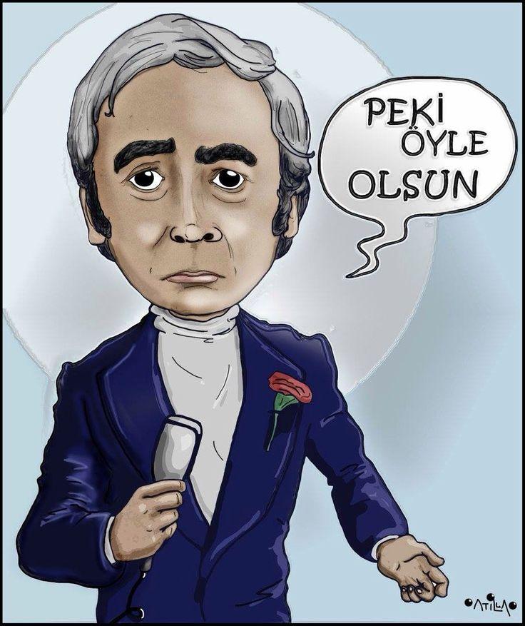Şener Şen #illustration #drawing #çizim #cartoon #caricature
