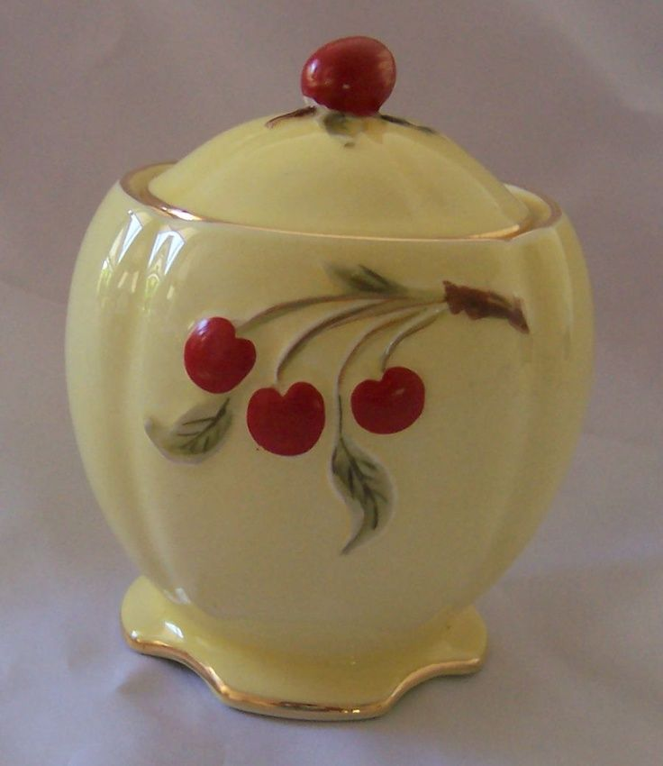 Cherry Cookie Jar