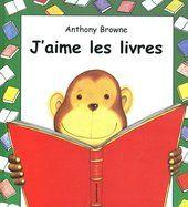 CPRPS 31997000920777 J'aime les livres. Les types de livres et d'histoires qu'affectionne un mignon petit singe humanisé, reflétant les goûts des tout-petits, illustrés de tendres aquarelles rassurantes inspirées de l'univers familier de l'enfance. -- Album s'insérant dans une gentille série de l'illustrateur de renom. [SDM]