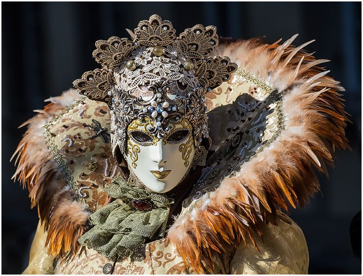 Queen of Masks by Frank Miihlberg ~ Carnival of Venice
