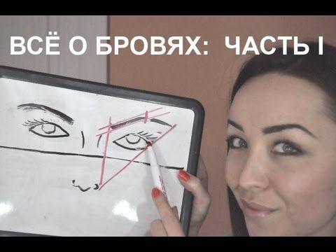ЧАСТЬ 1: ВСЁ О БРОВЯХ - YouTube