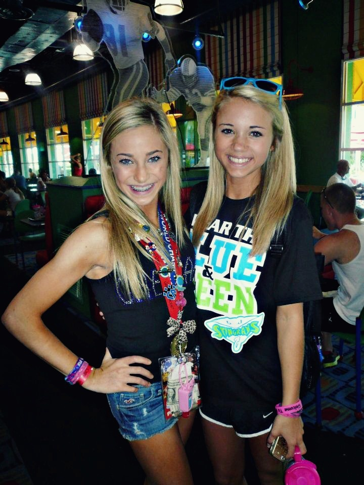 peyton mabry and carly manning from Kythoni's Cheer Athletics board http://pinterest.com/kythoni/cheer-athletics-jamie-andries-peyton-mabry-carly-m/