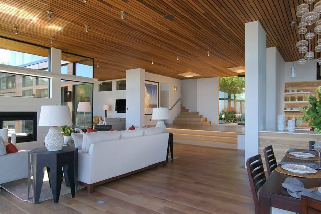Beautifully designed home in Tiburon, California. Home features Warmboard radiant | Amalfi Ridge LLC