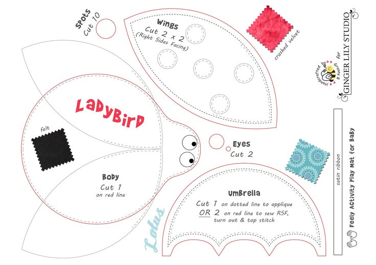 Ladybird pattern