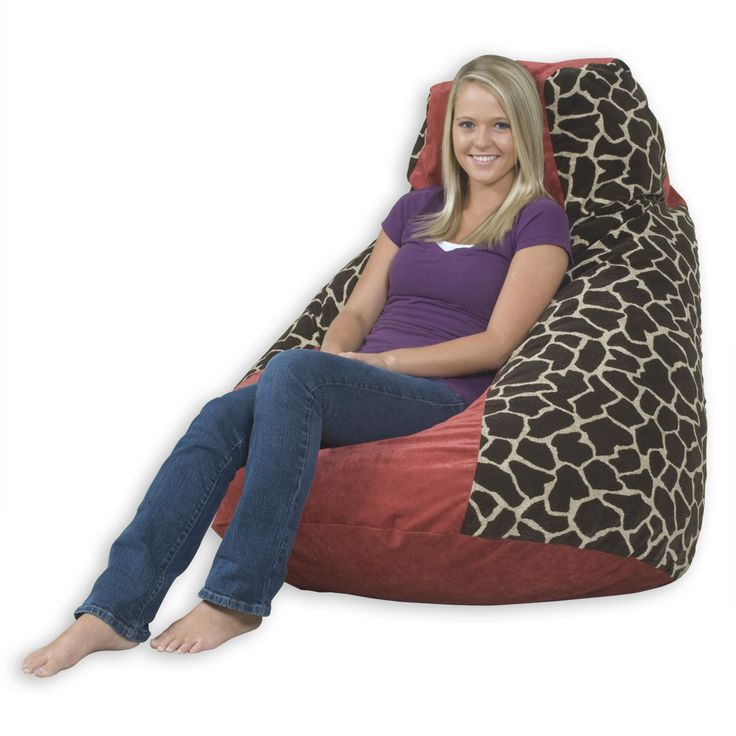Big Bean Bag Chairs Ideas - http://myba.ushelpingus.com/big-bean-bag-chairs-ideas/ : #BeanBags Big bean bag chairs – A beanbag chair is a great way to dress up any room. They are great for the kid's room and are perfect to enjoy your video player or as a form of relaxation for your family. These seats work perfectly as an extra place to sit in the family room and can be easily s...