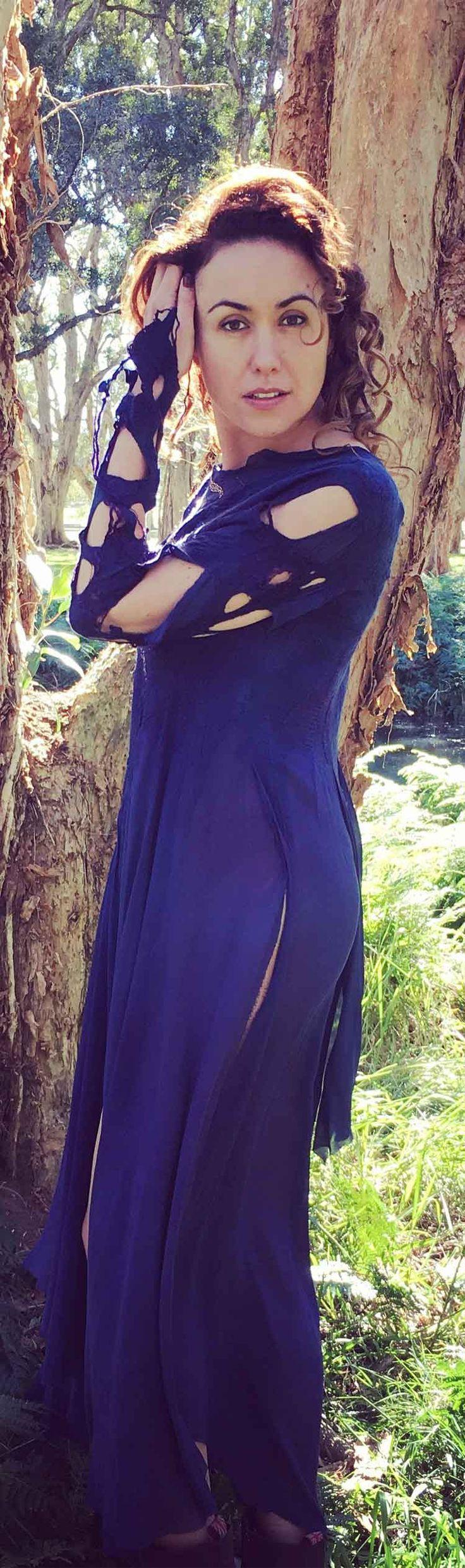 Beautiful fashion nuno wool felted dress by Vera Alexanderova#felt #felted #fashion #style #violet #purple #womenclothing #eco #ecofashion #boho #bohostyle #handmade #handmaddress #greenjacket #bohochic #silkdress #womendress