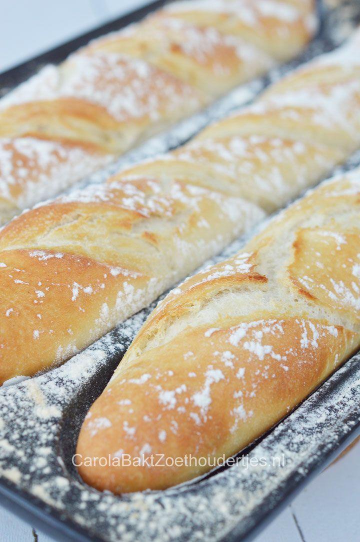 Recept: baguette maken | Emile Henry Baguettevorm - blogreview fonQ.nl | Door @zoethoudertje