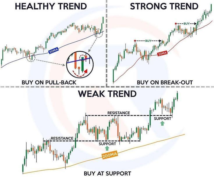 Healthy Trend Strong Trend And Weak Trend Learn From This Forex