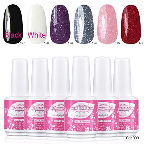 Perfect Summer UV LED Soak Off Gel Nails Polish