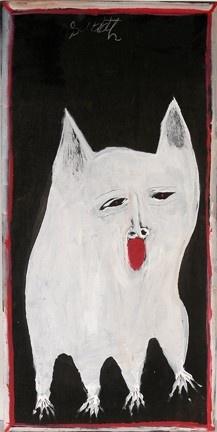 Toto - Jimmy Lee Sudduth  (Outsider art)