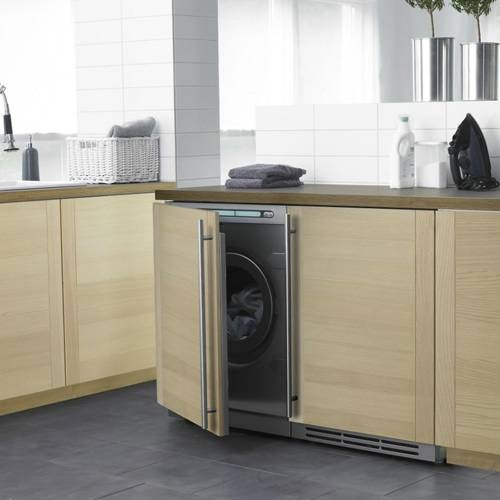 Asko W6984FI  Fully Integrated Front Load Washer.  Interesting alternative