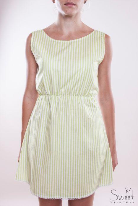 Bavlněné šaty s krajkou