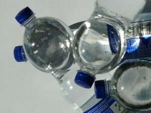 Drinking bottled water is recommended for travellers to South America.