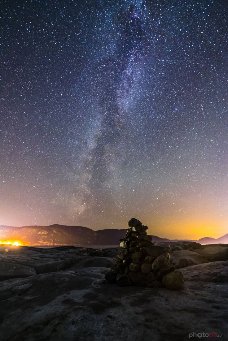 Milky way over Tadoussac Canada. http://ift.tt/2c1m0qd. want to see more amazing #nature/ #landscape photos follow @cutephonecases