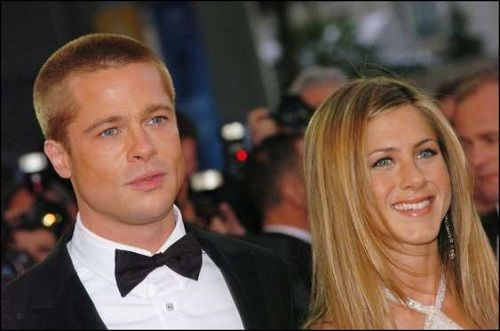 Brad Pitt and Jennifer Aniston's divorce - After seven years together, Brad Pitt and Jennifer Aniston announced in a statement in January 2005 that they were ca